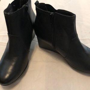 Clark Black booties